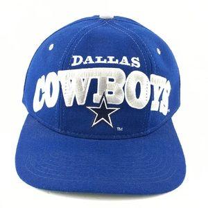 STARTER Accessories - Vintage Dallas Cowboys Starter Hat Snapback Wool 10246cc50bc1